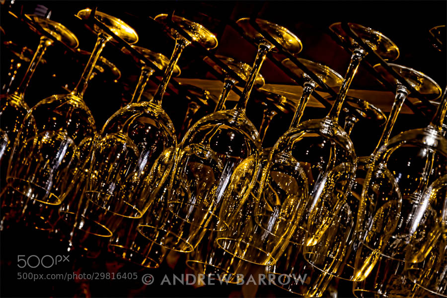 Photograph Hanging Wine Glasses by Andrew Barrow LRPS on 500px