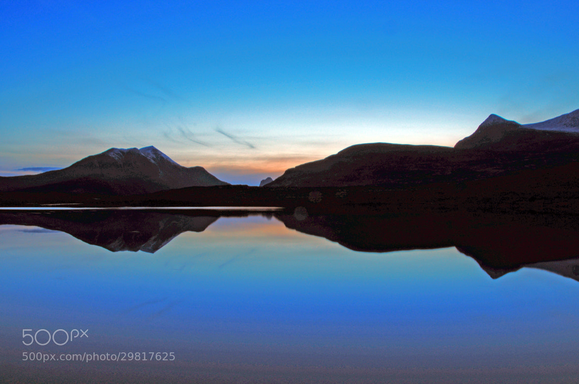 Photograph Scottish Mountain Reflections by Shaun Fernandes on 500px