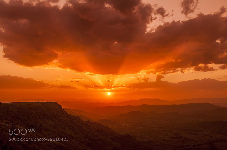 Photograph Lalibela Sunset by Csilla Zelko on 500px