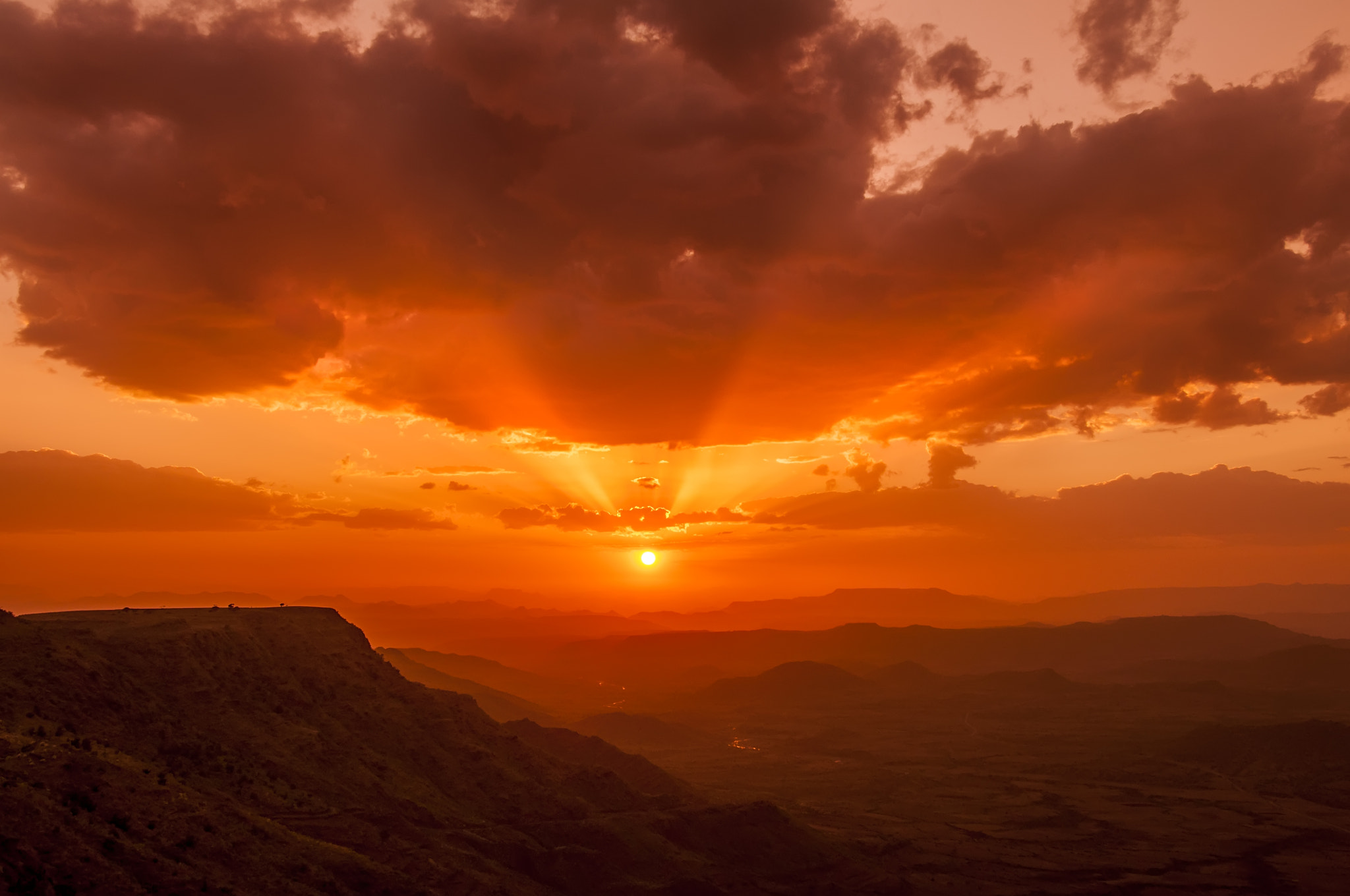Photograph Lalibela Sunset by Csilla Zelko on 500px