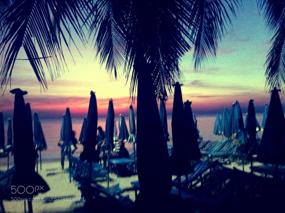 Photograph Bangsean Beach_2 by Deffenz J D-Max on 500px