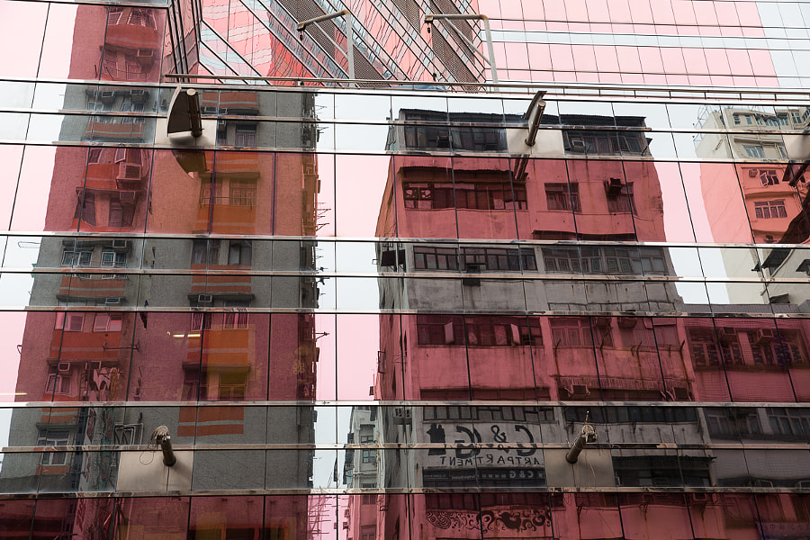 Life is pink in Mong Kok