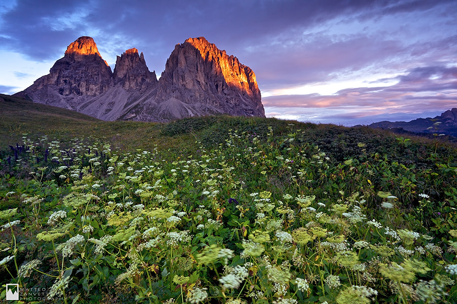 Photograph Sunny Peaks by Matteo Zanvettor on 500px