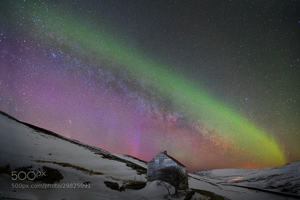 Photograph The Ghost house by Jon Hilmarsson on 500px