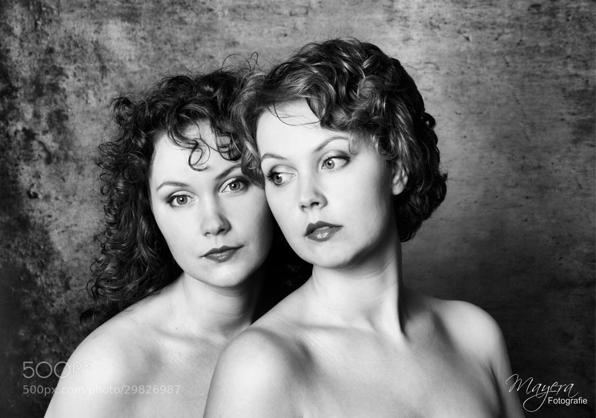 Photograph Twins sisters by Mayera Heij on 500px