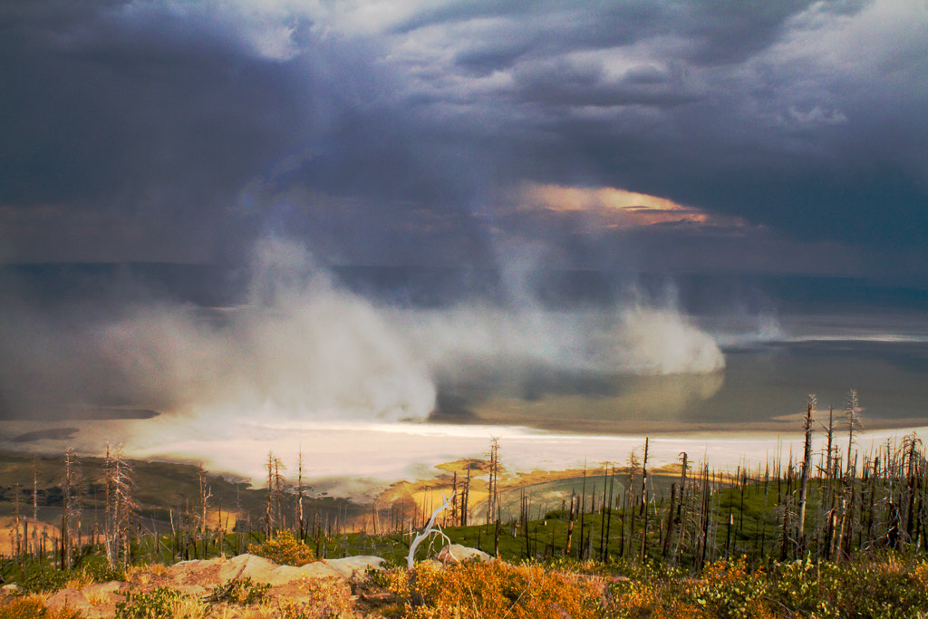Photograph Dust Storm at Summer Lake by Rob Robinson on 500px