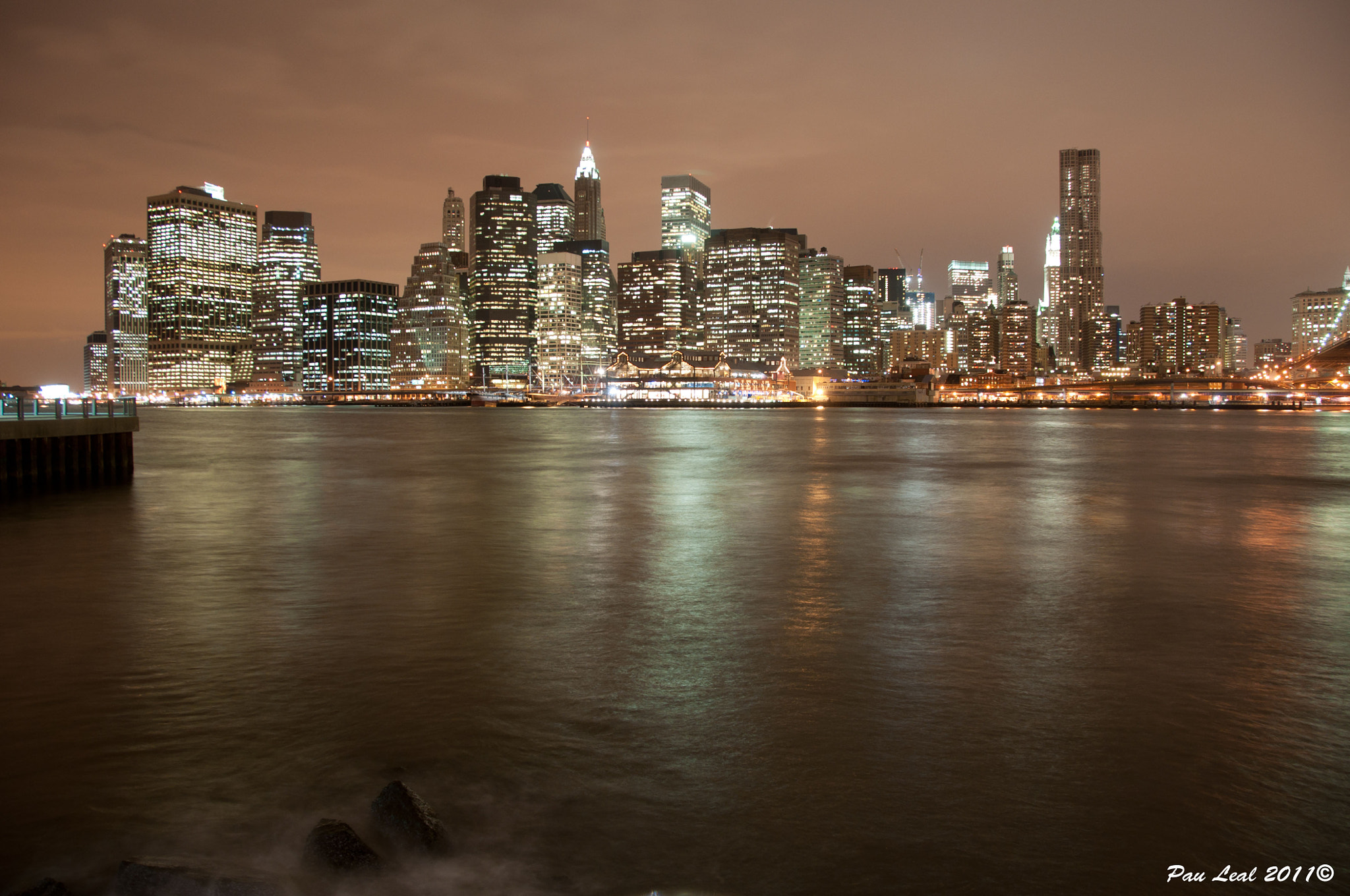 Photograph New York night  by Pau Leal on 500px
