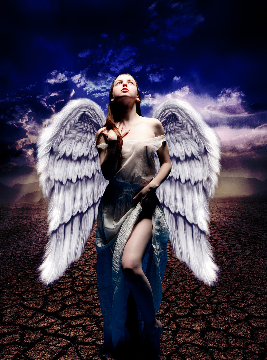 Photograph Angel work by Zarihs Retouching by Zarihs Retoucher on 500px
