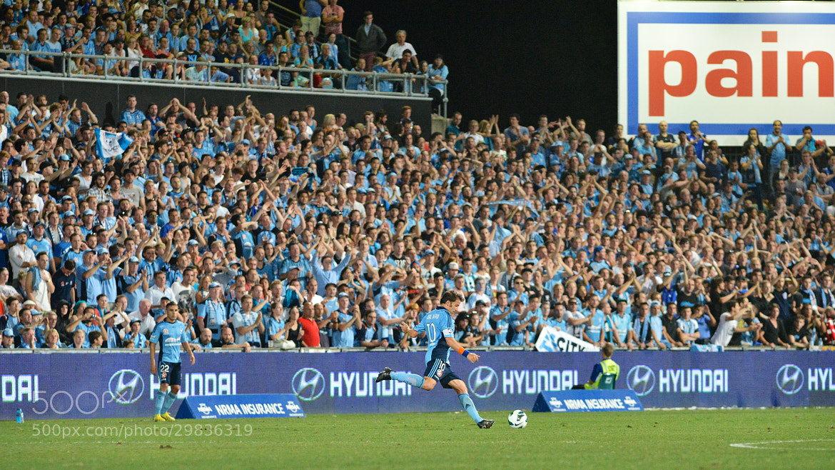 Photograph Del Piero freekick by Kevin Airs on 500px