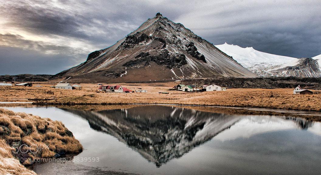 Photograph Lava Cone, Arnarstapi, Iceland by David Kasabian on 500px