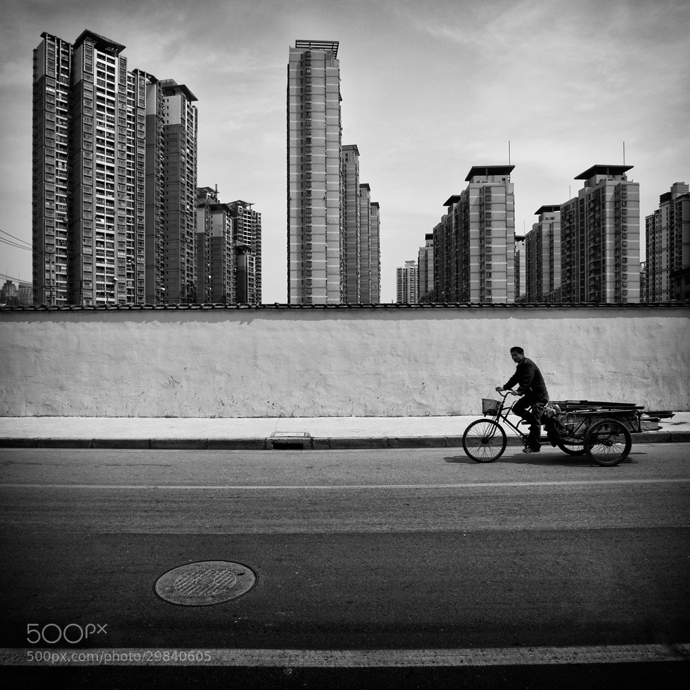 Photograph Cycling in Shanghai by Stephan Opitz on 500px