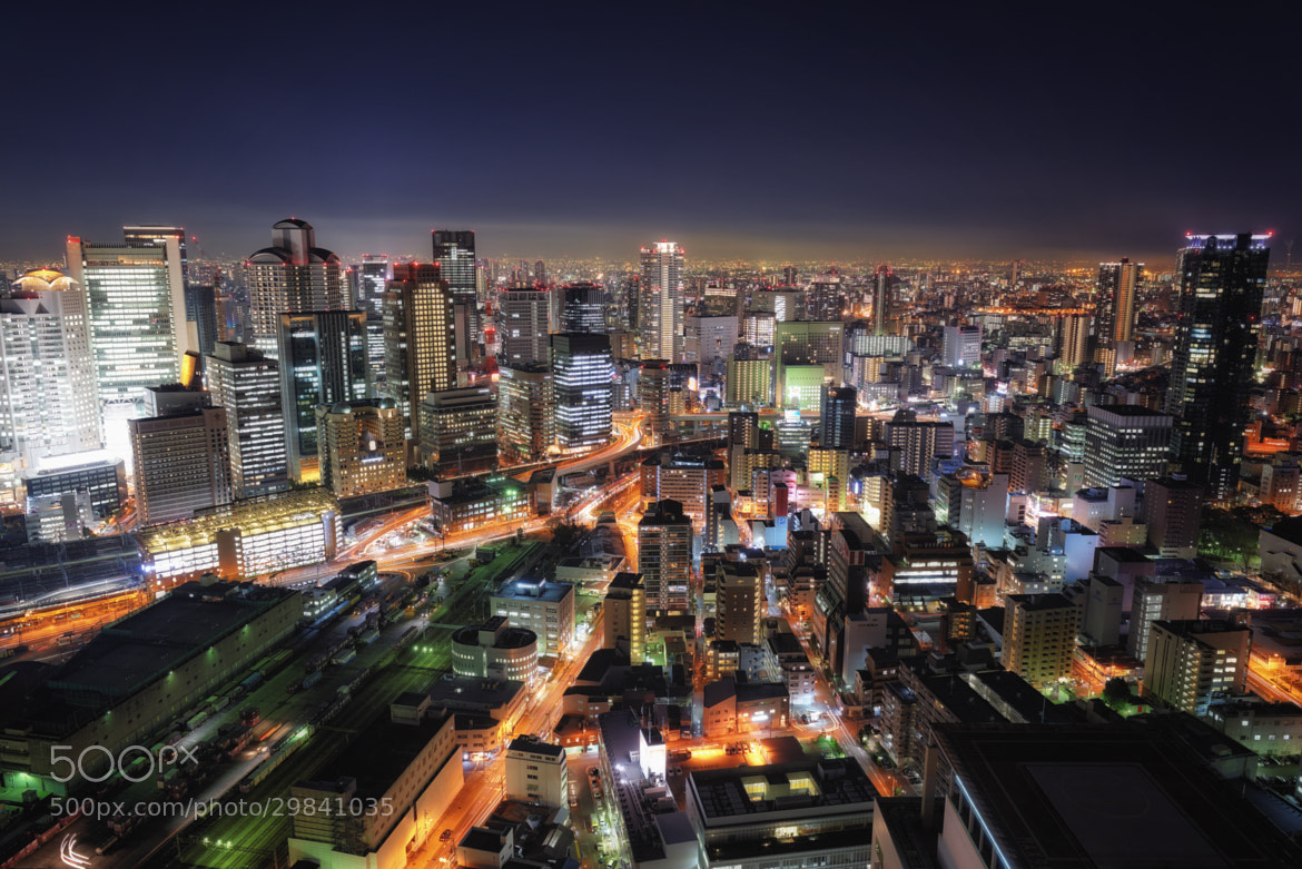 Photograph The Center of Osaka by Yoshihiko Wada on 500px