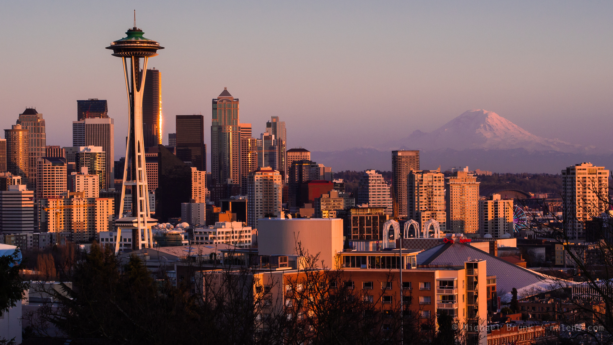 Photograph Seattle Sunset by Michael Brunk on 500px