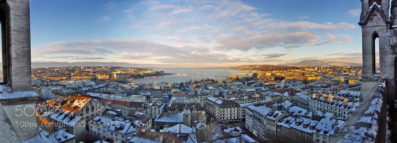 Photograph Panorama of Geneva by Bogdan's travel clicks on 500px