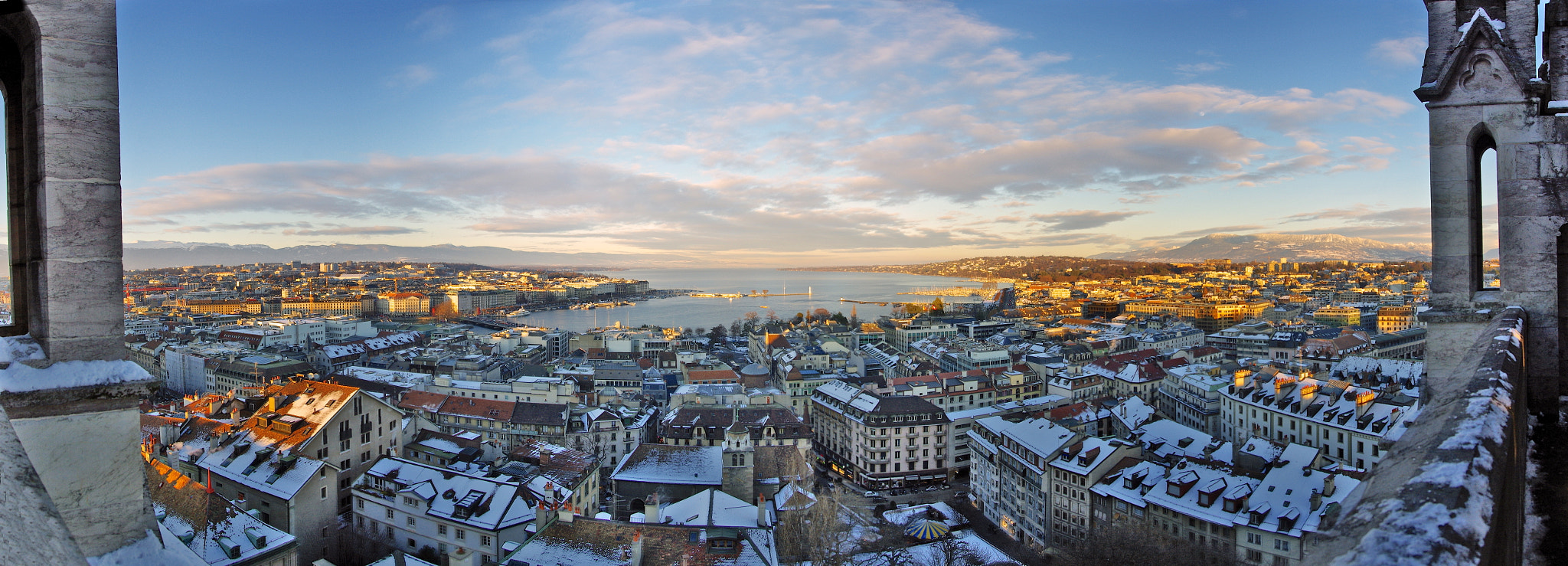 Photograph Panorama of Geneva by Bogdan's travel clicks on 500px