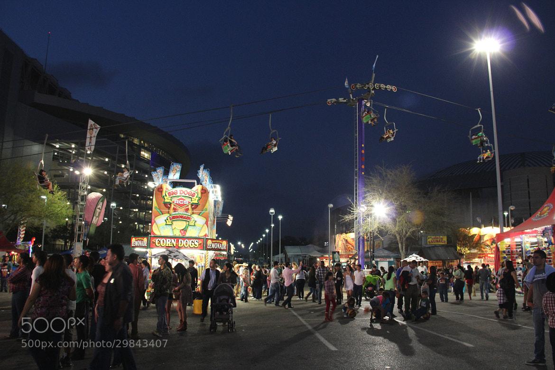 Photograph Night at Rodeo by Michele Wambaugh on 500px