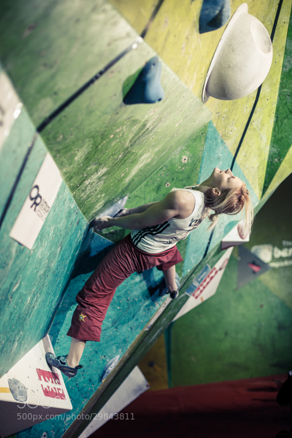 Leah Crane in the finals of the CWIF 2013