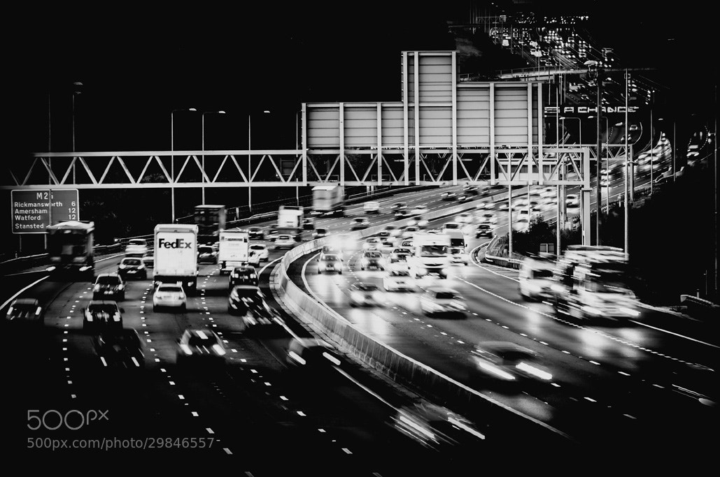 Photograph Motorway life by Philip Hartland on 500px