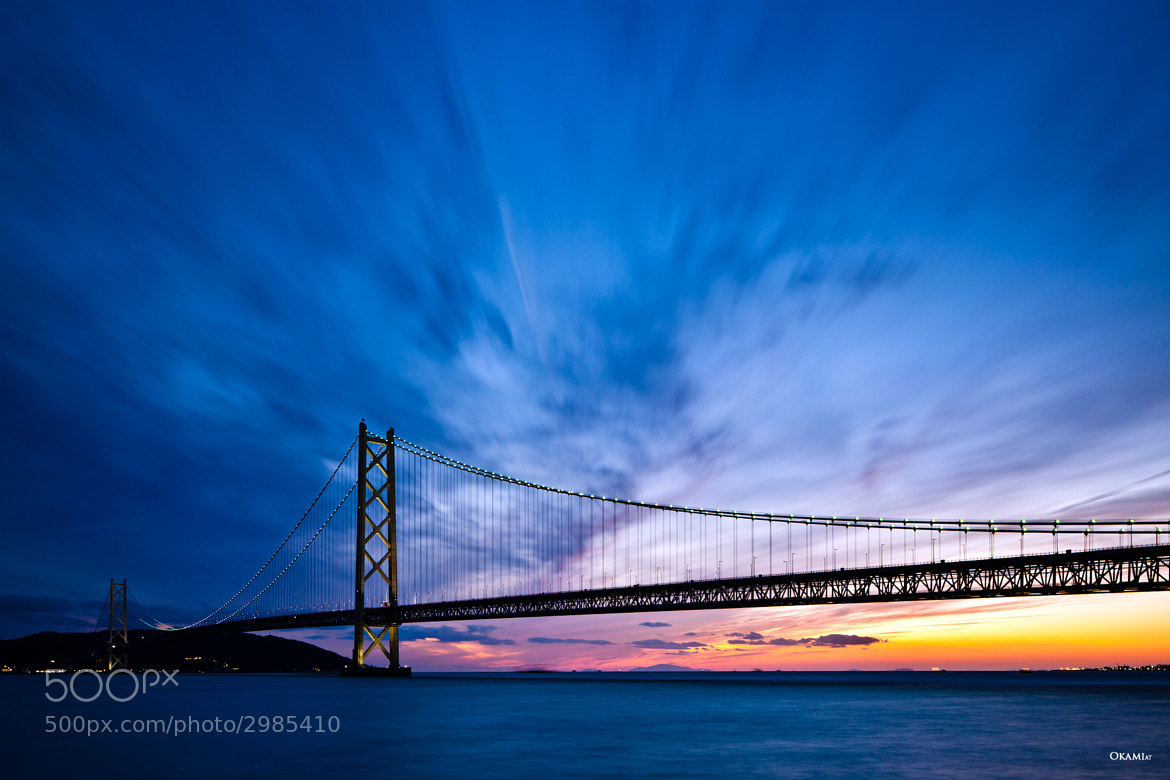Photograph Akashi Kaikyo Bridge by Richard Mayer on 500px