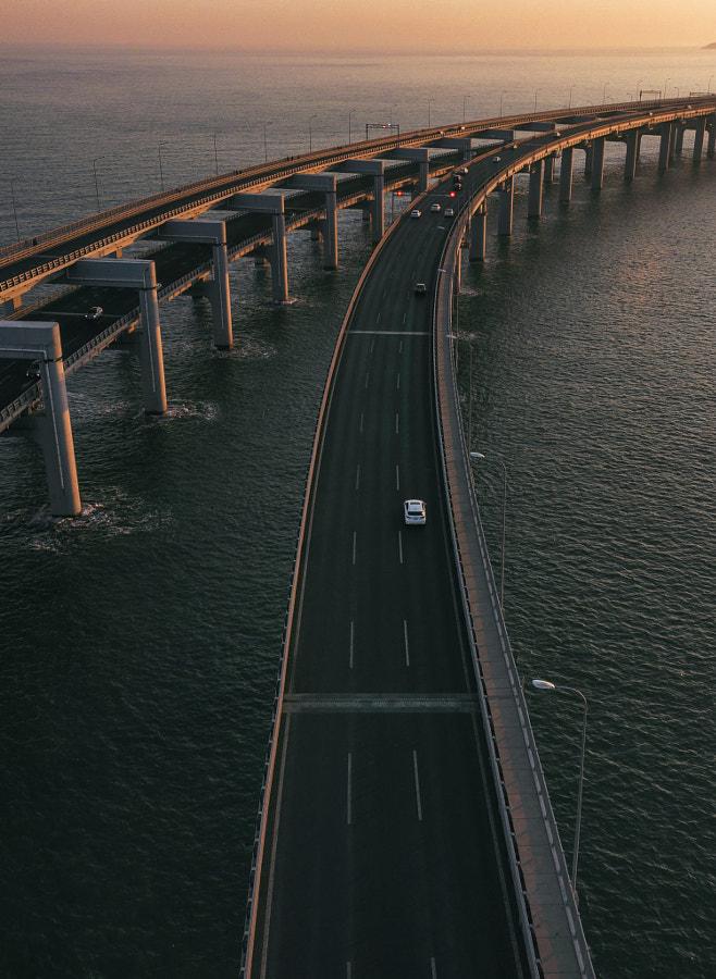 星海湾大桥 by 阿成_Inspire on 500px.com