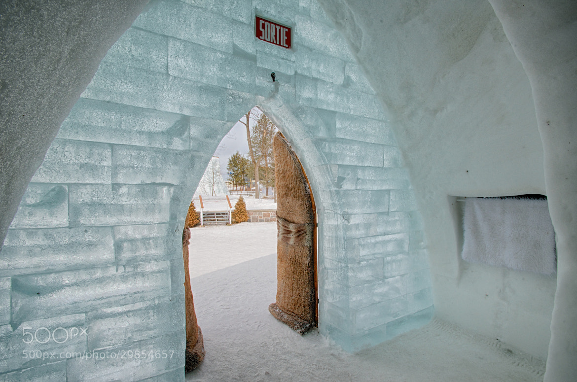 Photograph Ice Hotel - Looking Outside by Craig Weatherford on 500px