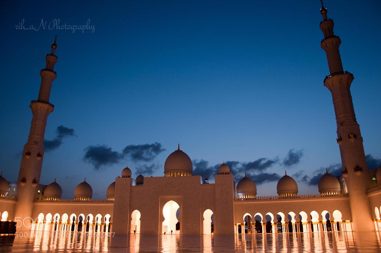 Photograph Dawn @ Sheikh Zayed Mosque by Rihan Sait on 500px