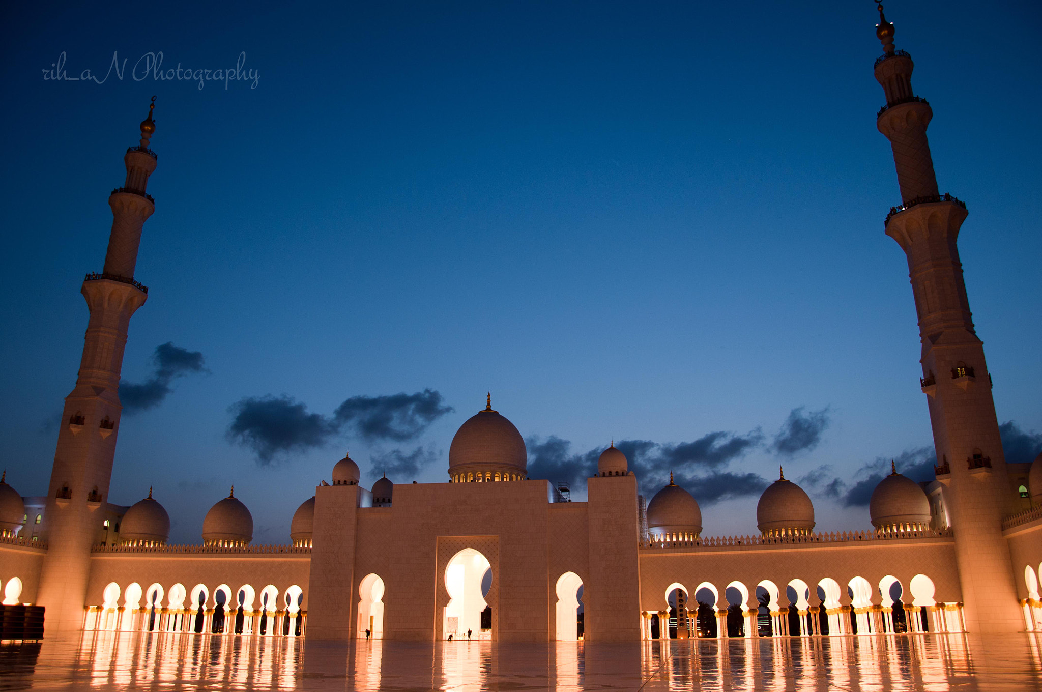 Photograph Dawn @ Sheikh Zayed Mosque by Rihan Sait on 500px