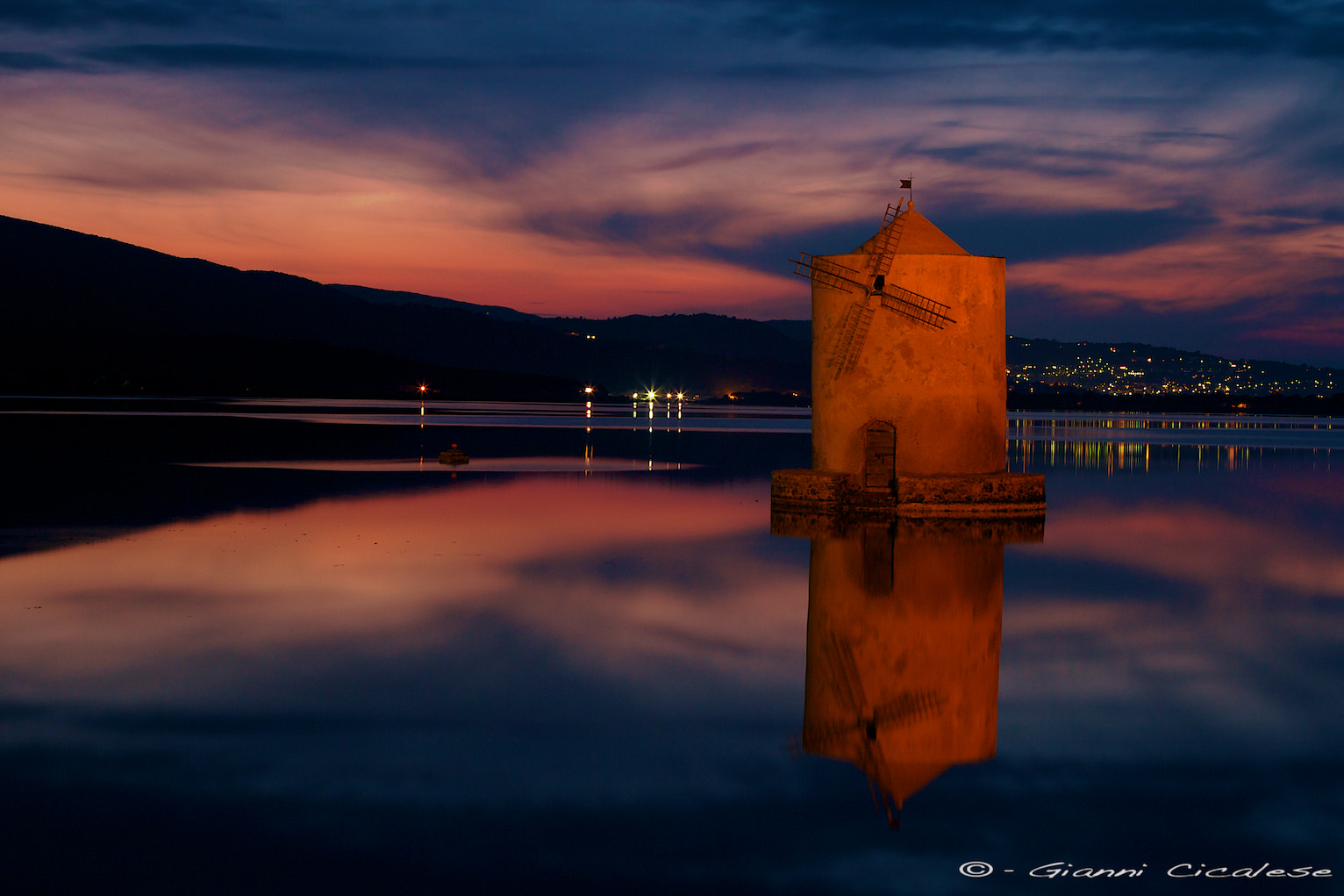 Photograph first Lighs of Night in Orbetello (GR) by Gianni Cicalese on 500px