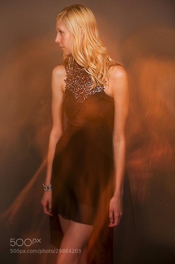 Taylor Sheridan modeling her beauty.