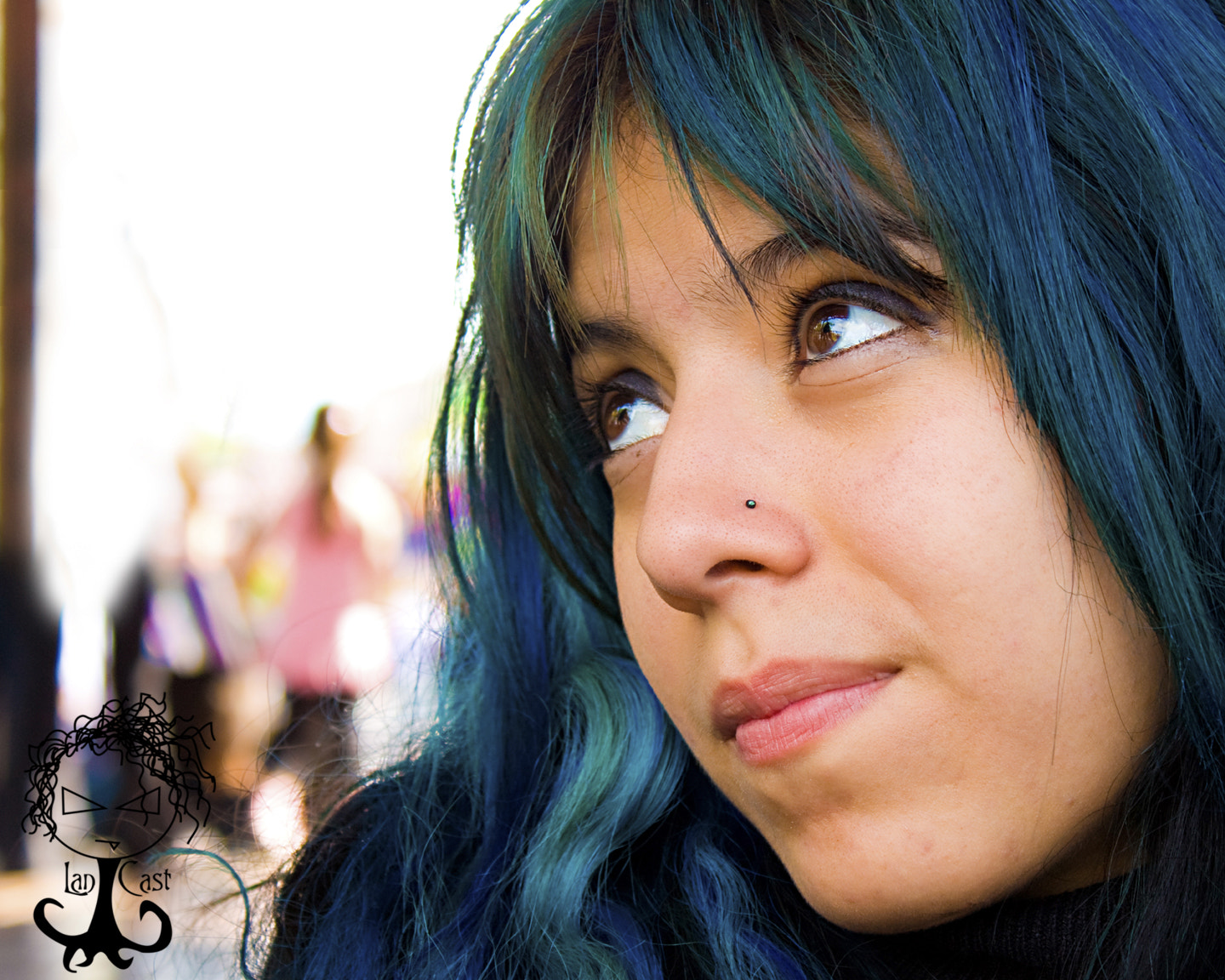 Photograph Brown eyes,Blue hair by Richard D`LanCast on 500px