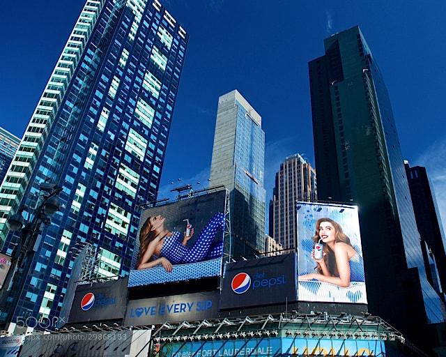 Photograph Blue York, Blue York by Shaun George on 500px