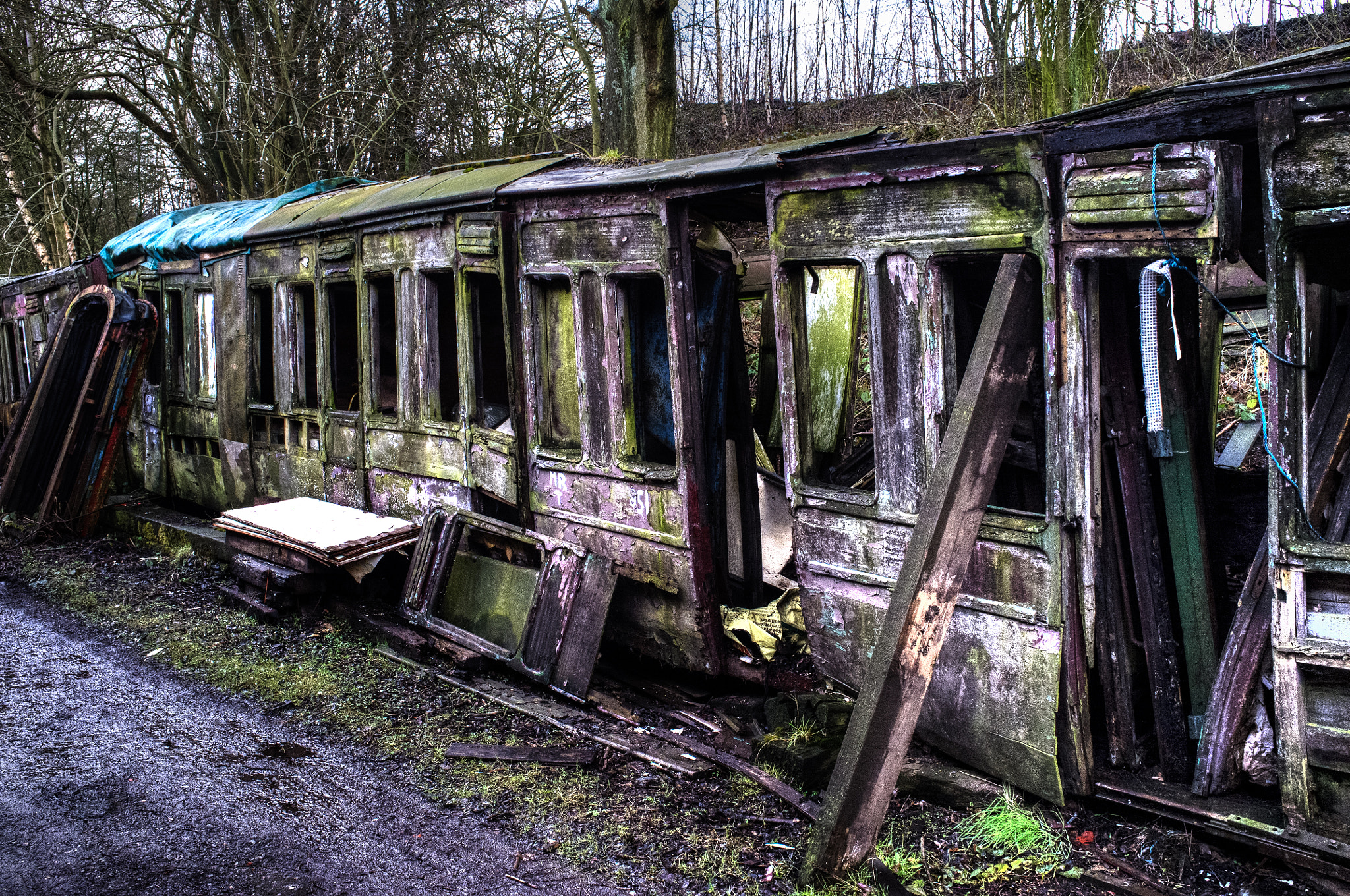 Photograph Old railway Carriages by David Guyler on 500px