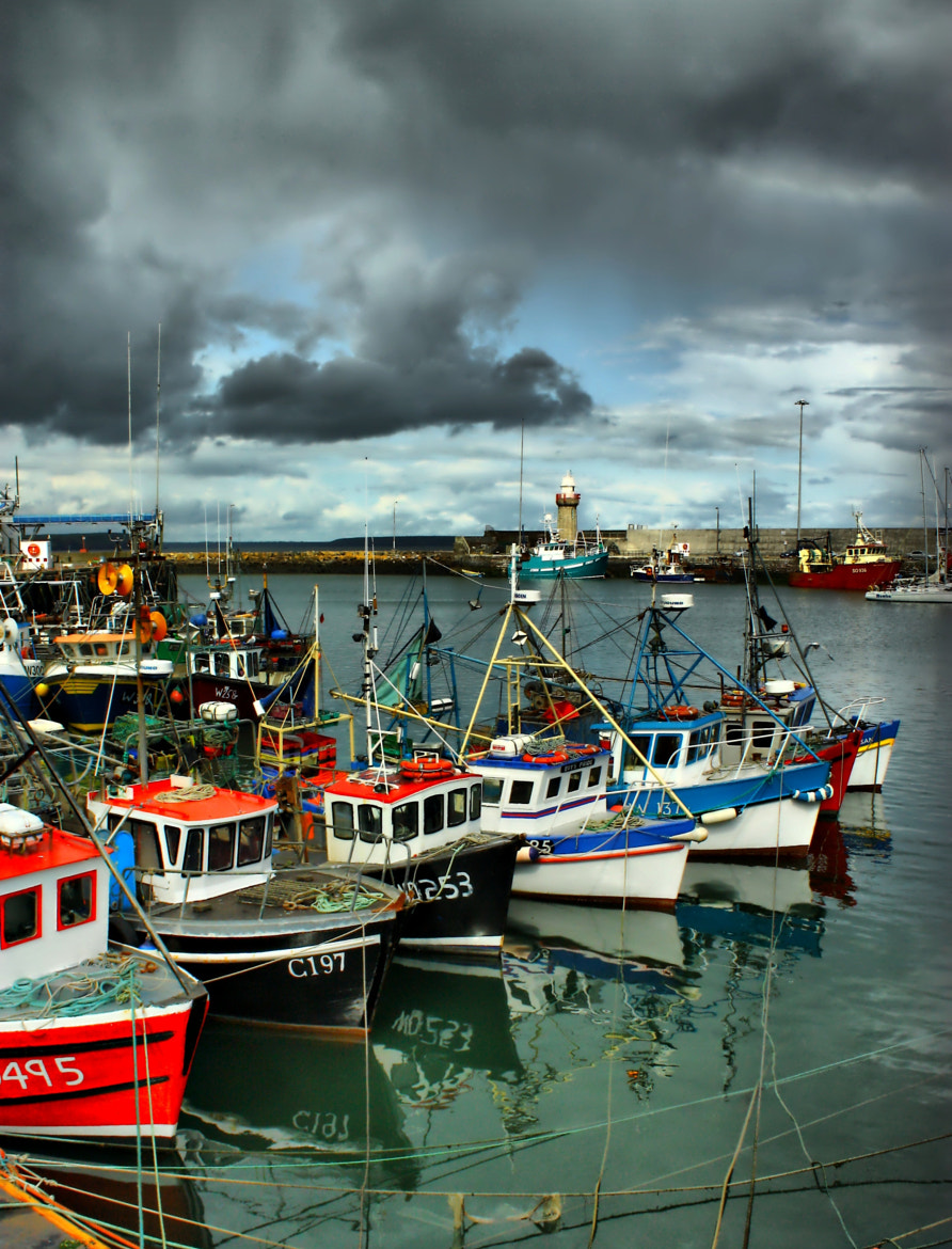 Photograph fishing port by Dariusz Czekala on 500px
