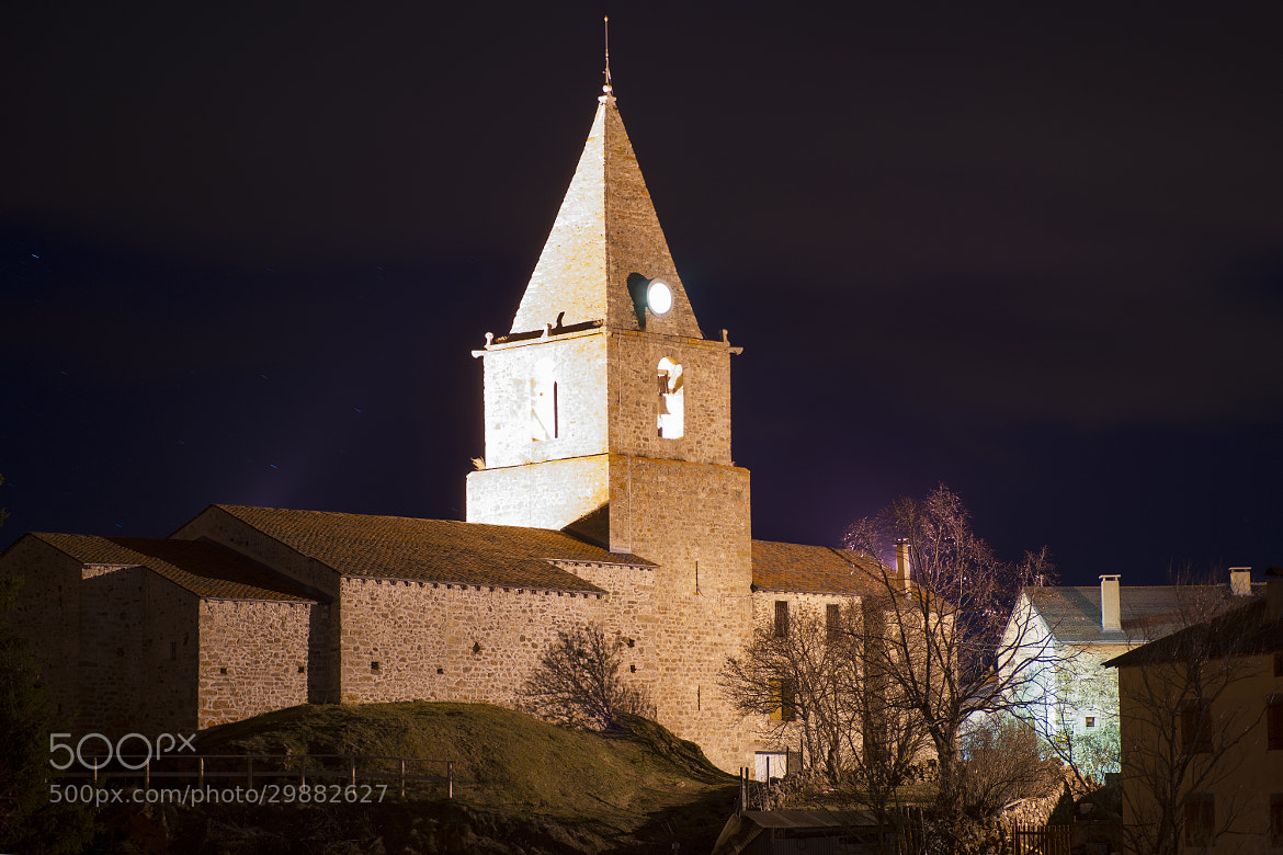 Photograph Church by night by Fabrice BARDES on 500px