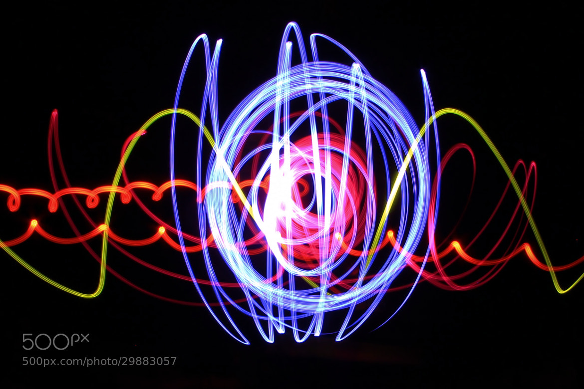 Photograph First Go at Playing with Lights by Tony Jones on 500px