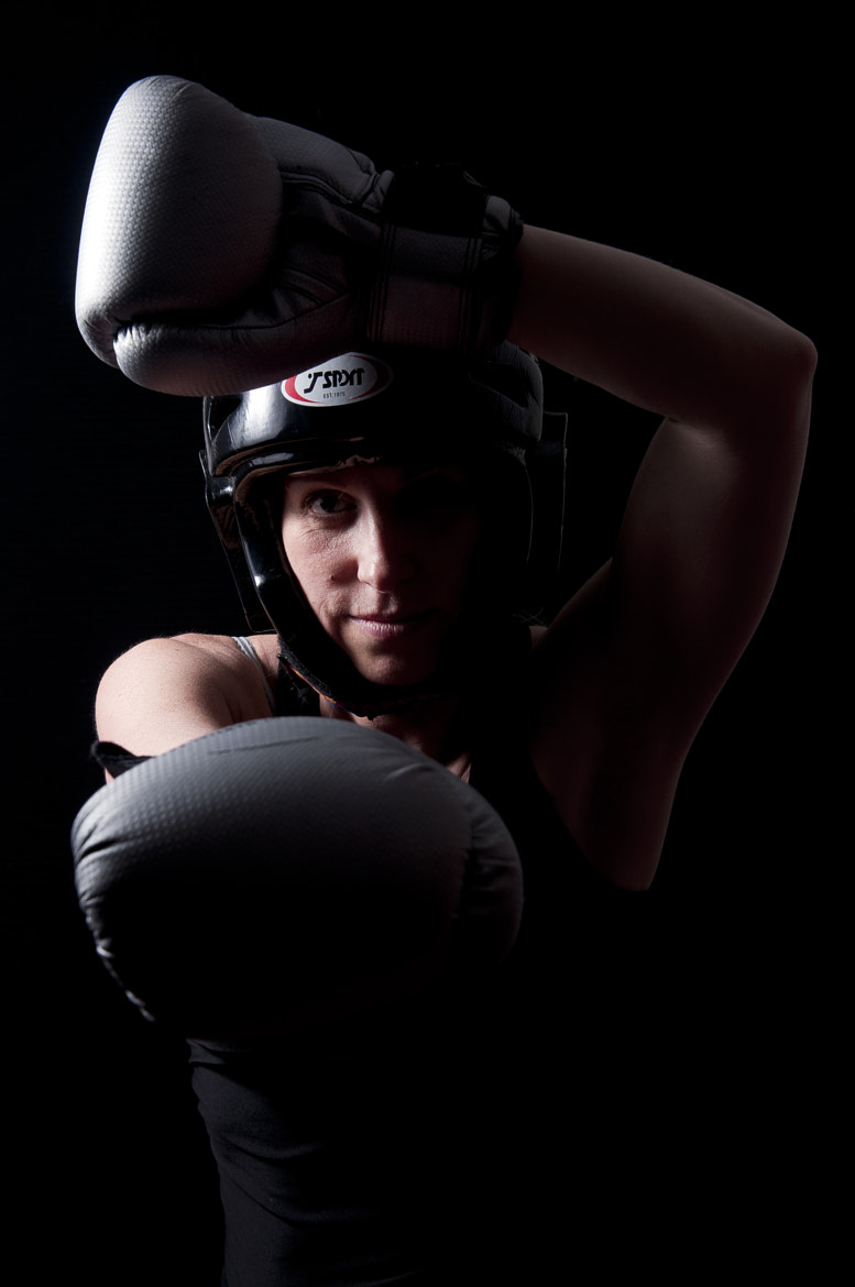 Photograph Ann Kickboxing shoot by Hannah Griffiths on 500px