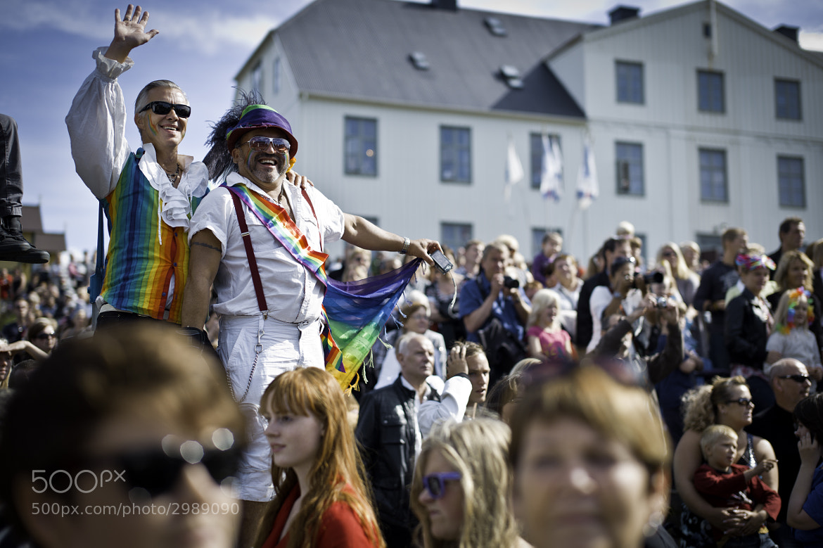 Photograph Gay-Pride by Árni Möller on 500px