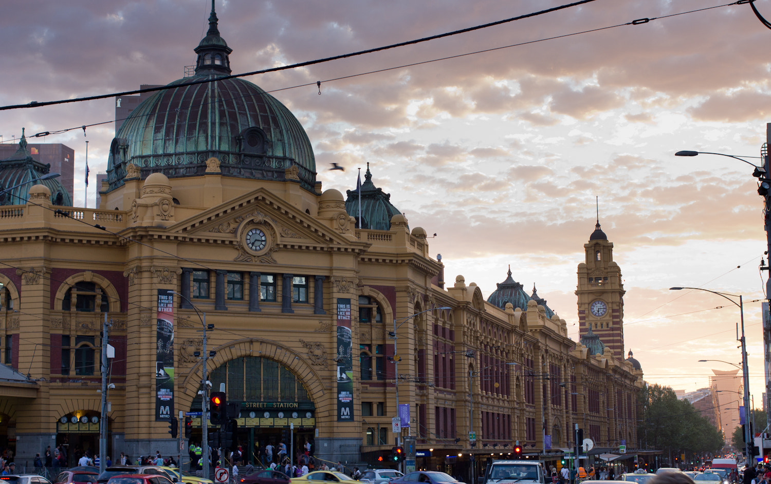 Photograph Flinders street station, Melbourne by Edib Unal on 500px