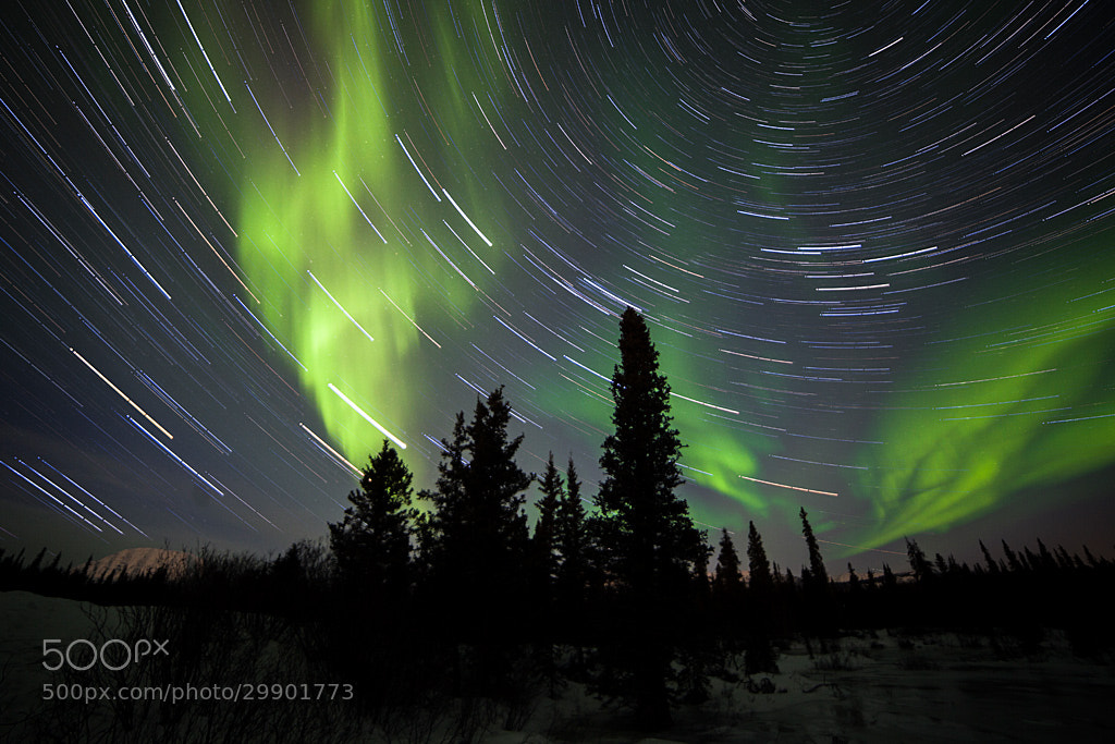 Photograph Star Trails and Northern Lights by Nicolas Dory on 500px