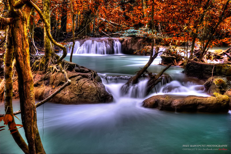 Photograph Little Waterfall by Pisit Rapitpunt on 500px