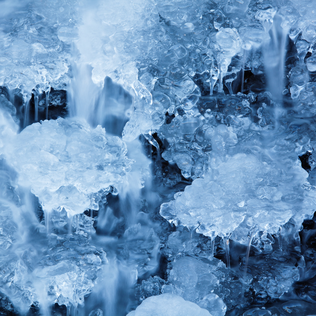 Photograph Ice detail, Foss-a-sidu, Iceland by Simon Byrne on 500px