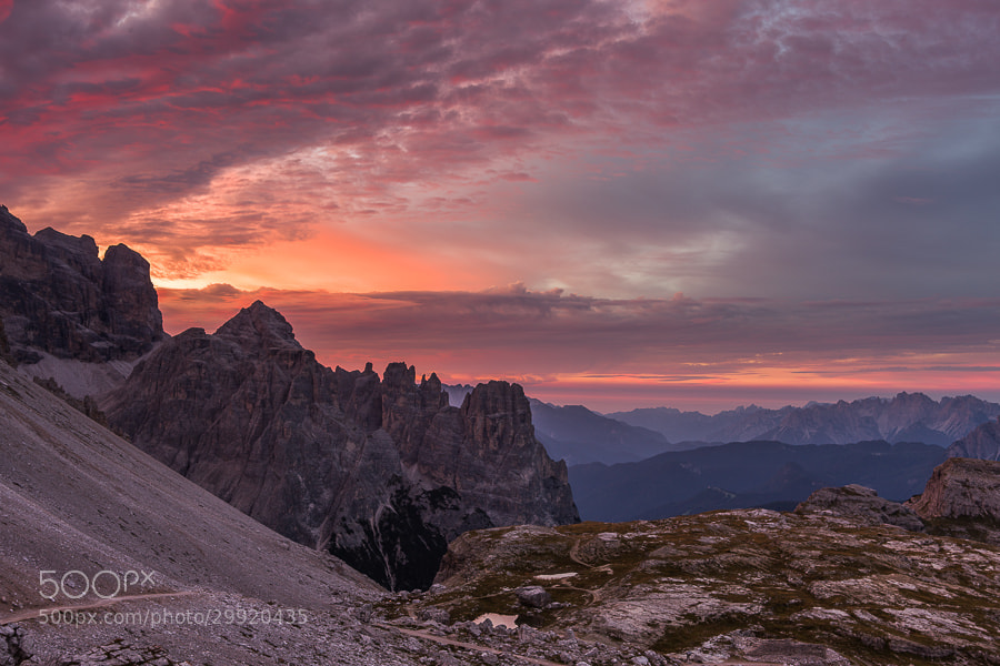 """<a href=""""http://www.hanskrusephotography.com/Workshops/Dolomites-September-9-13-2013/27288954_F322KR#!i=2437379833&k=KQg2SVf&lb=1&s=A"""">See a larger version here</a>  This photo was taken during a photo workshop that I was leading in the eastern part of the Dolomites in September 2012."""