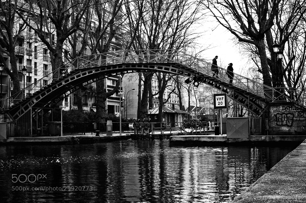 Photograph The Canal St-Martin #4 by JT Jones on 500px