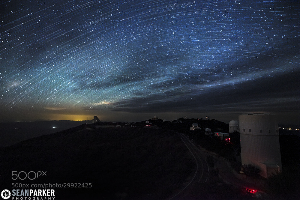 Photograph Southern Star Trails by Sean Parker on 500px