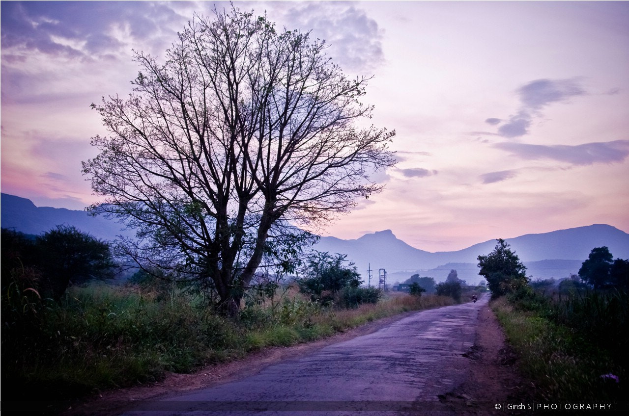 Photograph The Lonely Road by Girish Suryawanshi on 500px