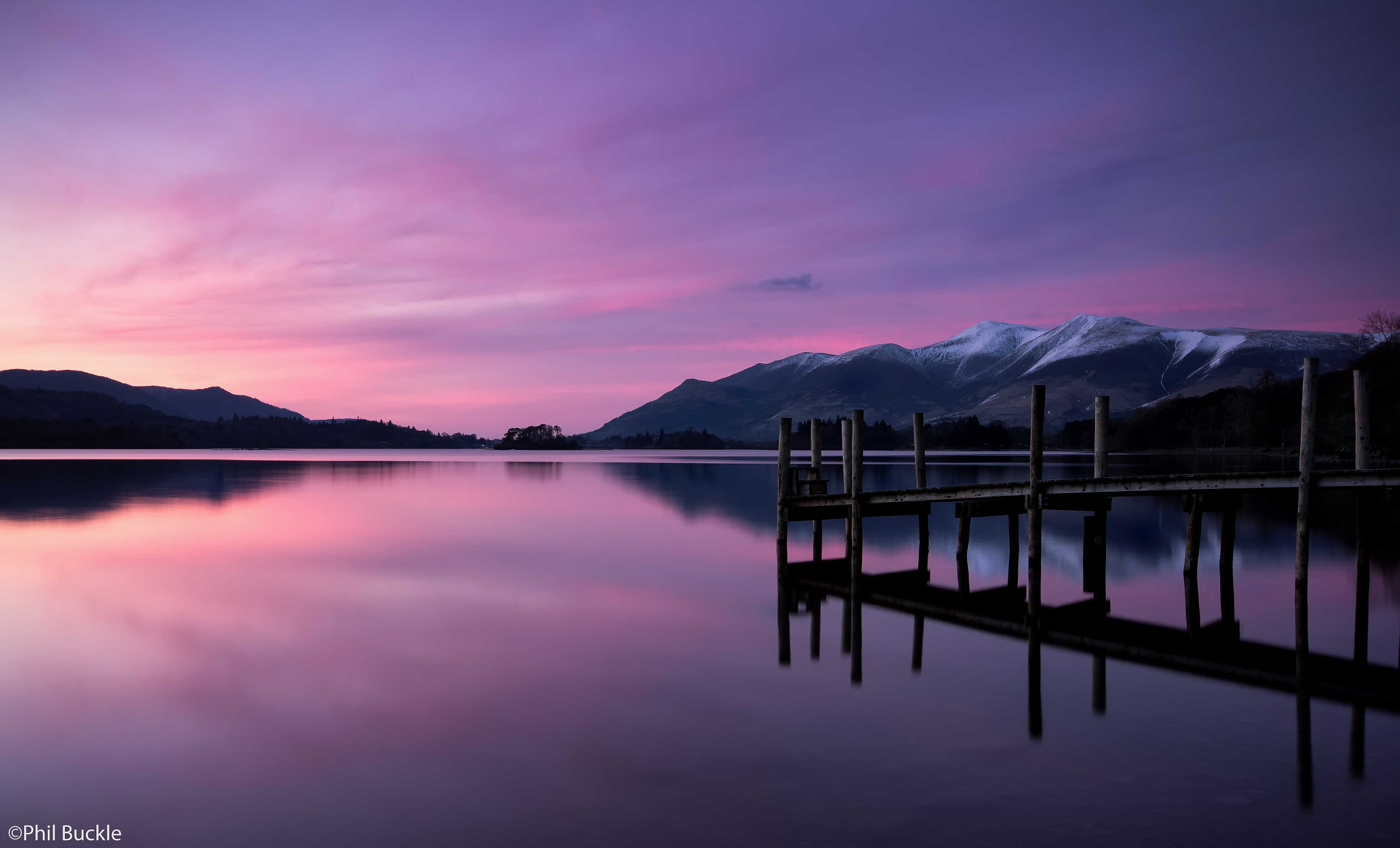 Photograph Derwent Dusk by Phil Buckle on 500px