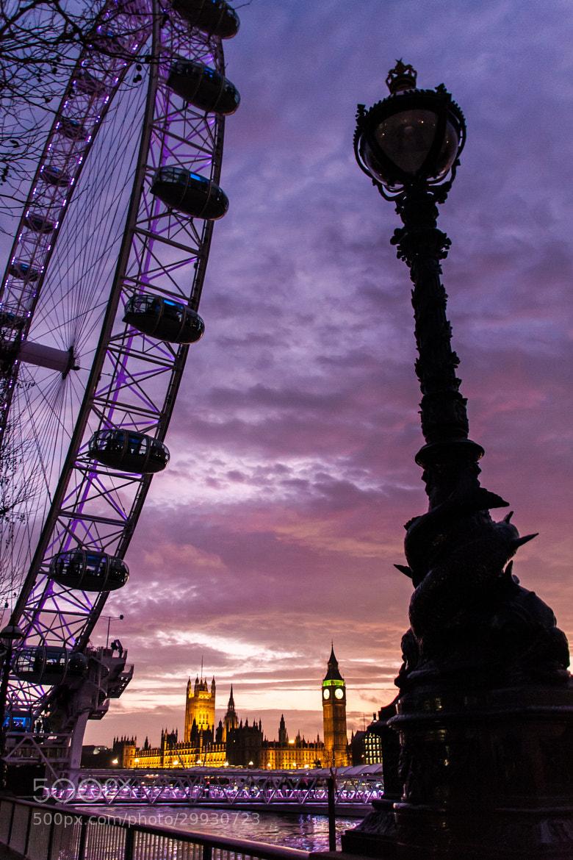 Photograph London dusk by Gert-Jan Mes on 500px
