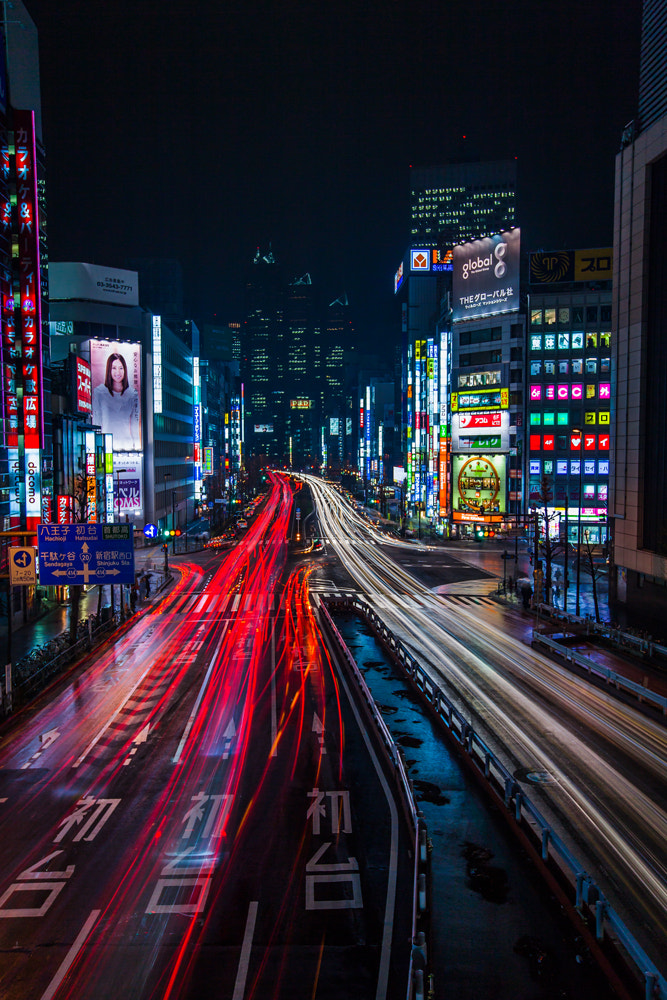 Photograph Tokyo by night by Albin Larsson on 500px