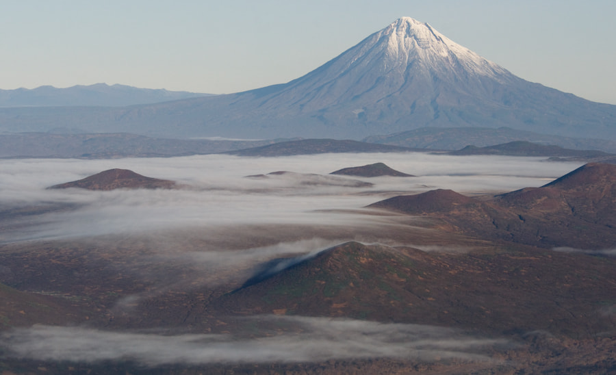 Photograph Fog under the volcano by Petr Shpilenok on 500px