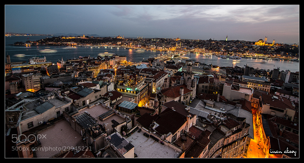 Photograph Istanbul Cityscape  by Inan Aksoy on 500px